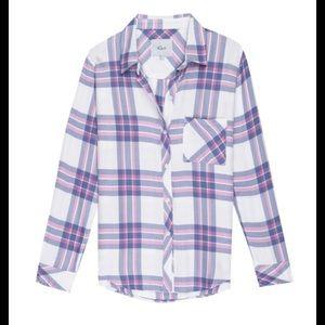 Rails   Hunter plaid flannel shirt